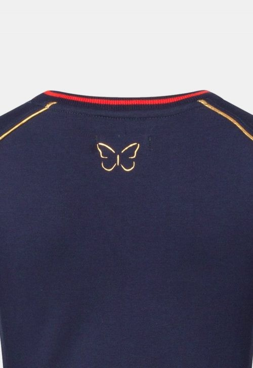 Chaos and Order Sweater 'Evy Navy'