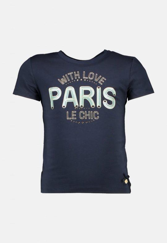 T-Shirt 'With Love Paris' Le Chic
