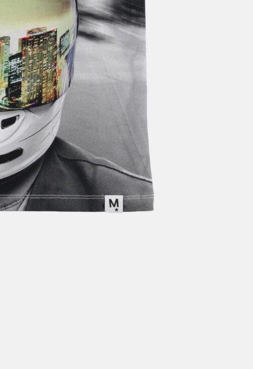 Molo T-Shirt 'Road MC Helmet'