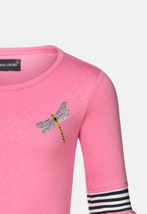 T-Shirt 'Tess Pink' Chaos and Order