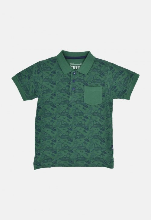 Polo 'Seoul - smoke pine' Tiffosi