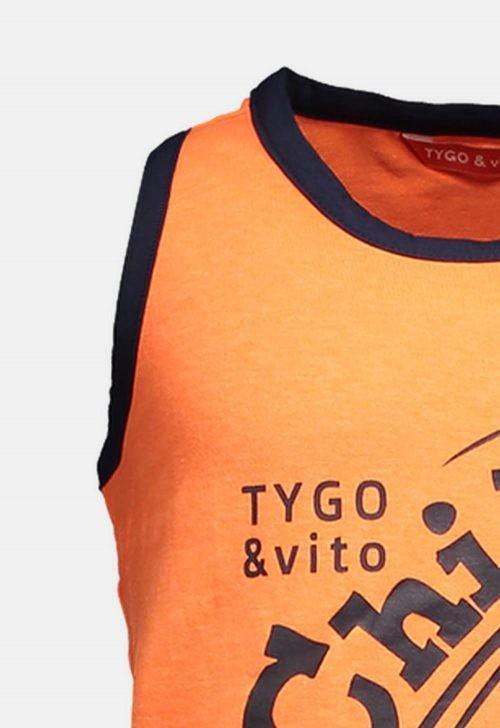 Tanktop 'neon' Tygo & Vito