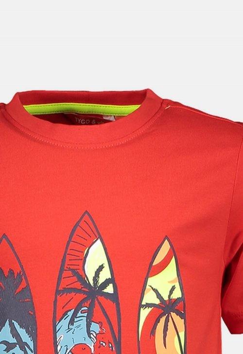 Tygo & Vito T-shirt 'Surfboard'