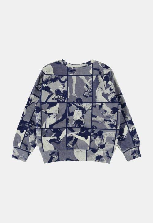 Sweater 'Mik - Sports Mix Blue' Molo