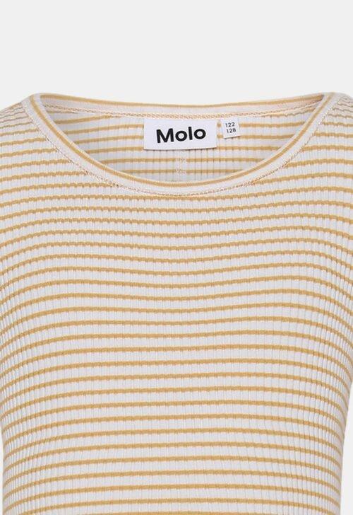 Top 'Rochelle - geel/wit' Molo