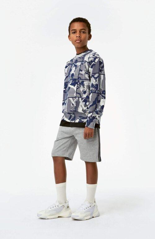 Sweater Molo jongen blauw wit
