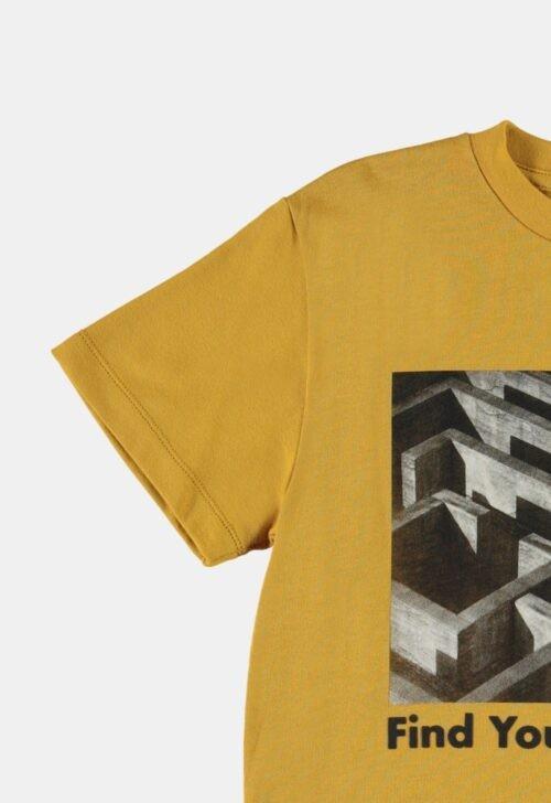 T-shirt 'Roxo - Ancient Gold' Molo