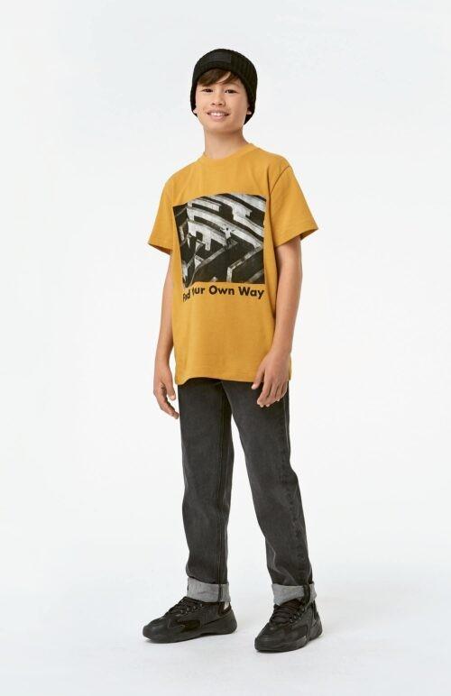 T-shirt Molo jongens geel