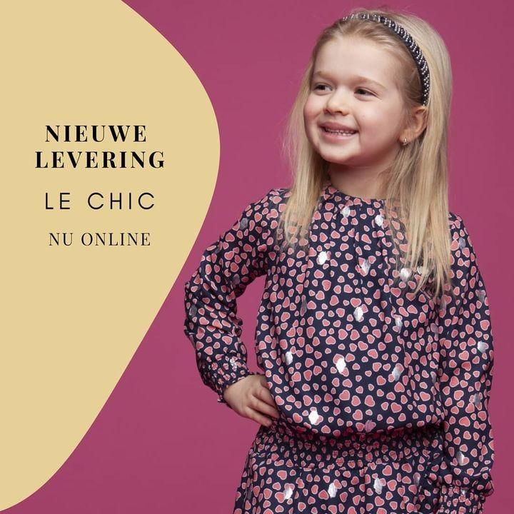 Always dress like a princess ⭐ . De tweede levering van @lechickidsfashion nu online en in