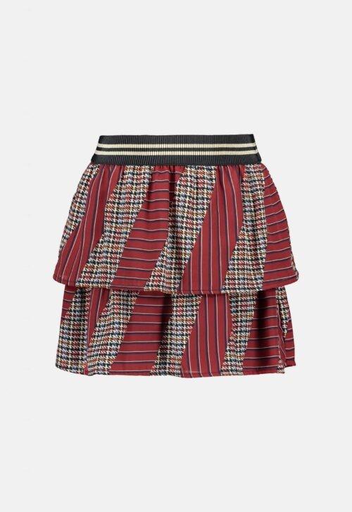 Like Flo Rokje 'Woven Check Stripe'