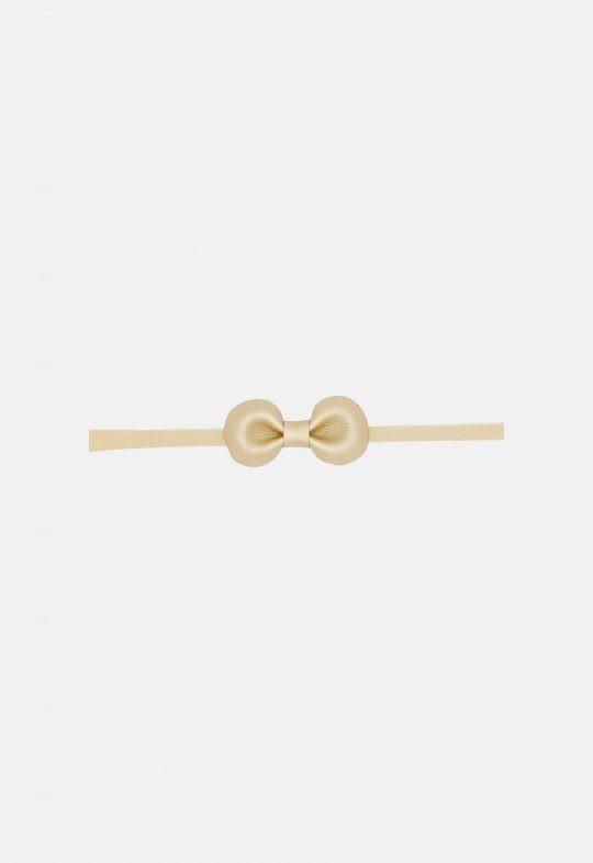 Haarband kunstleer - goud Noah & Sisi