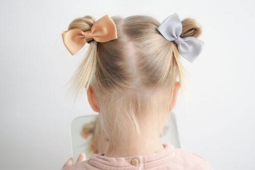Haarspeld Noah & Sisi meisje grijs