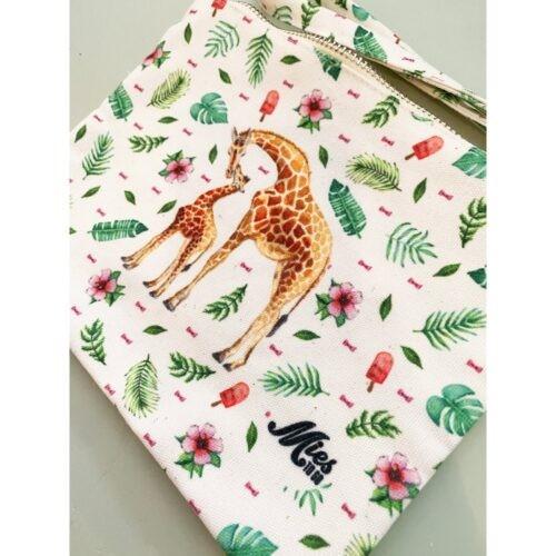 Etui Mies to go jongen meisje giraf