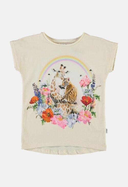 T-shirt 'Ragnhilde - Rainbow Circle' Molo