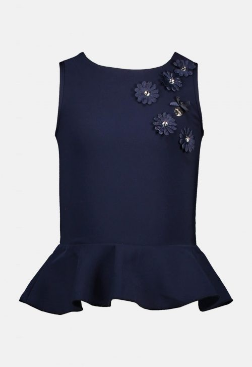 Top 'Open back & Tiny flowers' Le Chic