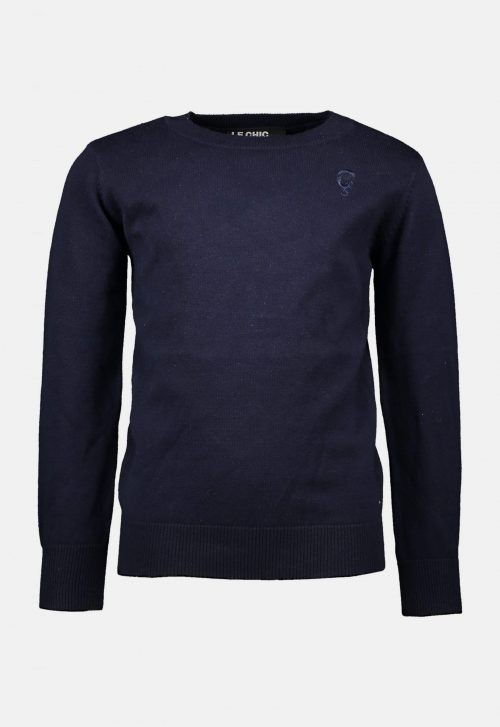 Pullover 'Knitted Classic - Blue Navy' Le Chic Garçon (LCEE)