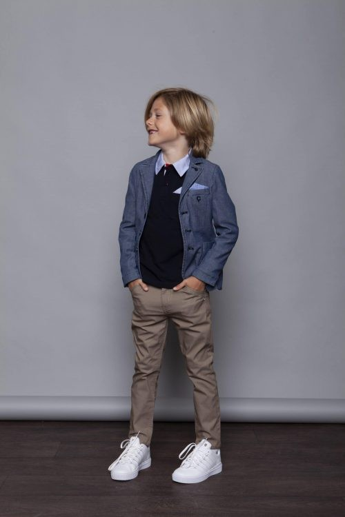 Broek Le Chic Garçon jongen beige
