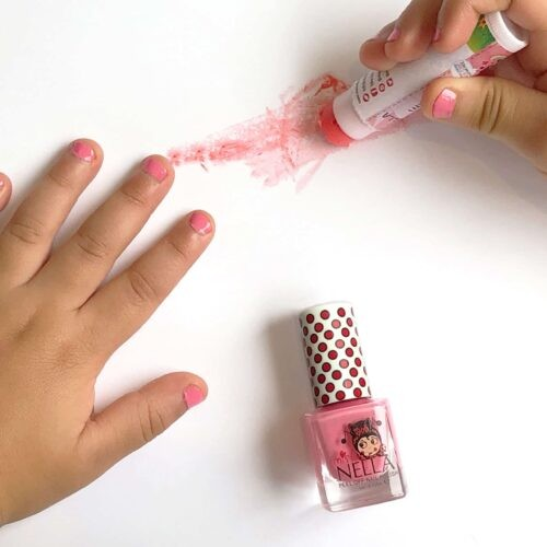 Nagellak Miss Nella roze