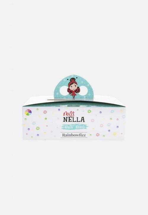 Bath Bomb set van 6 'Rainbowfizz' Miss Nella