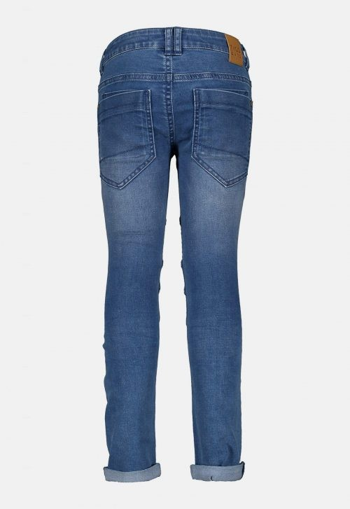 Skinny Stretch Jeans Kneepatches - Light Used Tygo & Vito