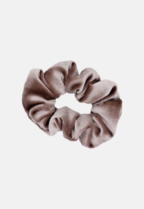 Noah & Sisi Velvet scrunchie - licht mauve