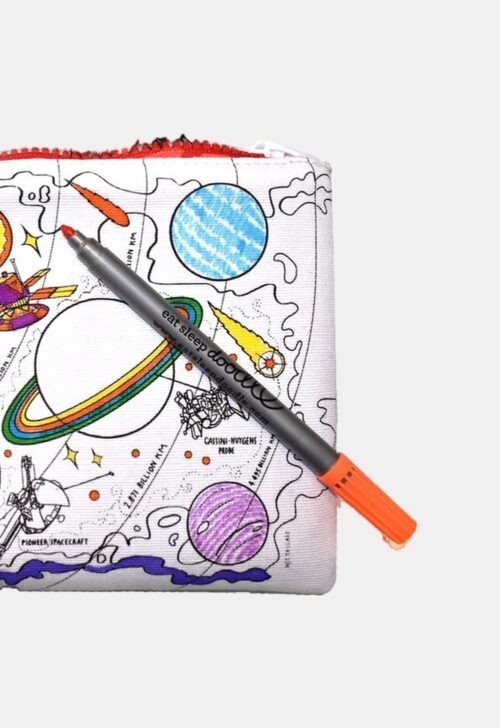Herkleurbare pennenzak 'Space Explorer' Eat Sleep Doodle