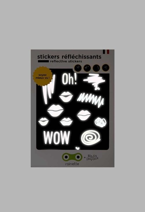 Reflecterende stickers - Kiss Rainette
