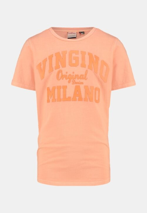 Vingino T-shirt 'Logo Tee - Orange'