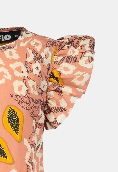 Like Flo Jurk 'Pink Papaya'