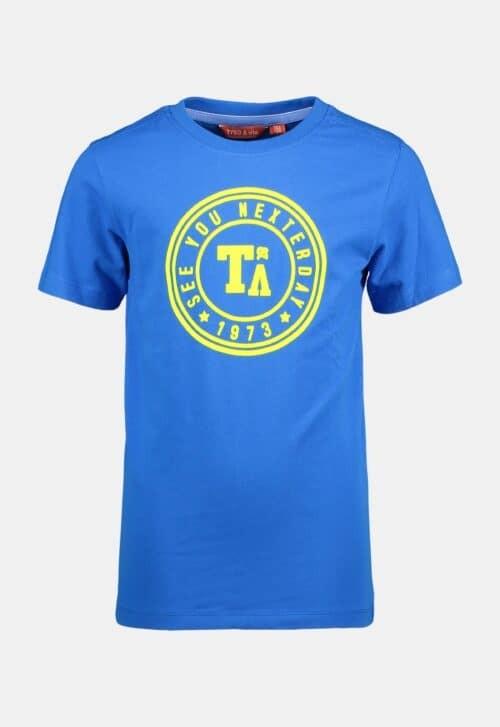 Tygo & Vito T-shirt 'Logo Print - Sky Blue'