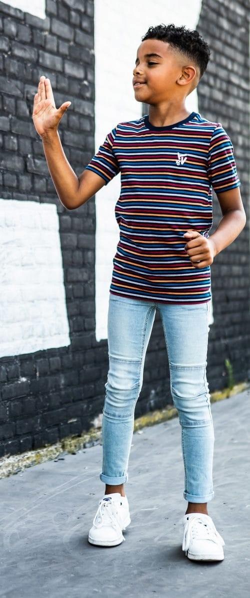 Tygo & Vito T-shirt 'Stripe'
