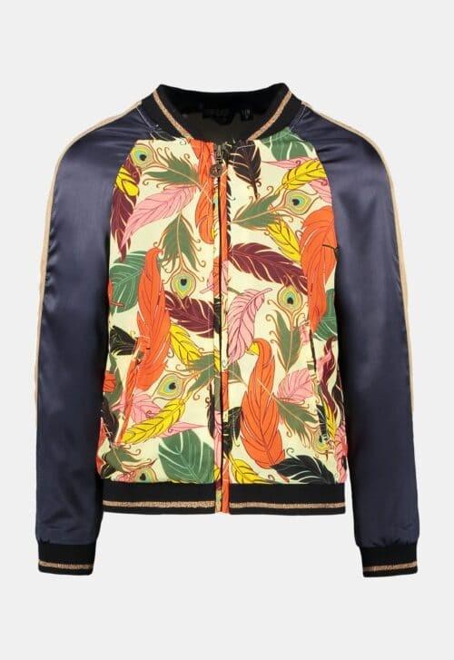 Like Flo Bomber vest 'Feather'