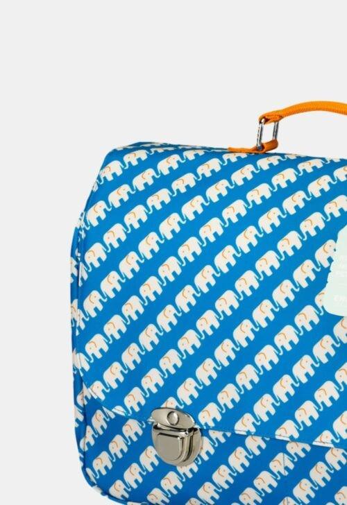 ENGELpunt Schooltas 'Elephant Blue'