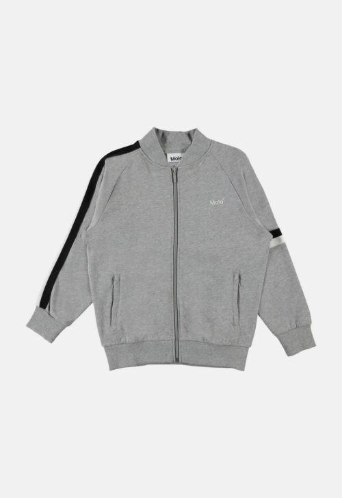 Molo Vest 'Manco - Grey Melange'