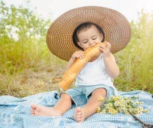 hupsa kindermode vier zomer buiten picknick