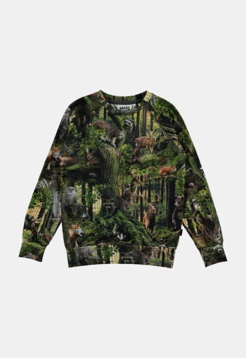 Molo Sweater 'Romeo - Forest Life'