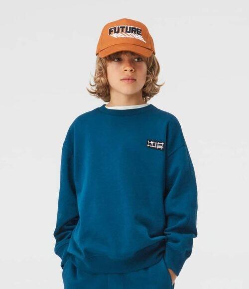 Sweater Molo jongen blauw