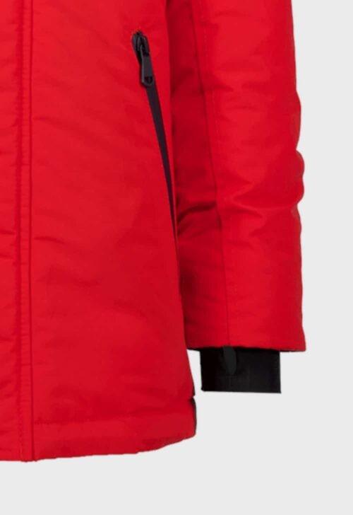 Vingino Winterjas 'Takumi - Flame Red' incl. gratis muts en rugzak