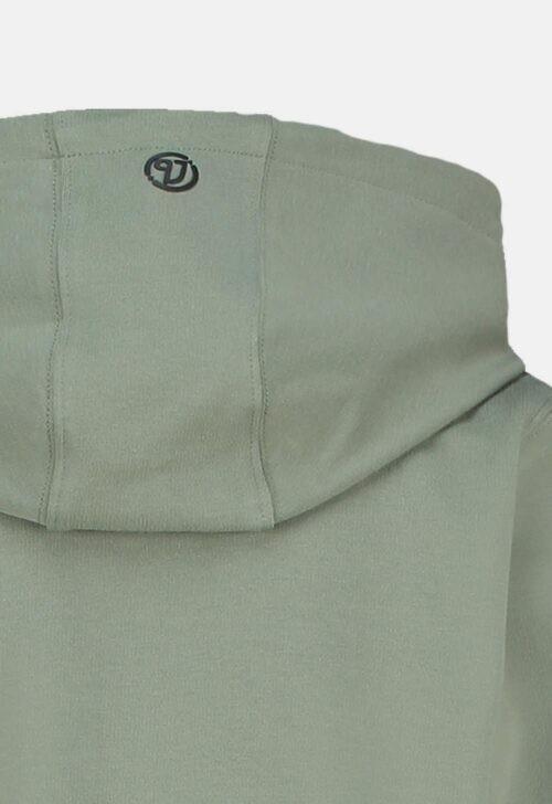 Vingino Vest 'Sweat Zip - Light Army'