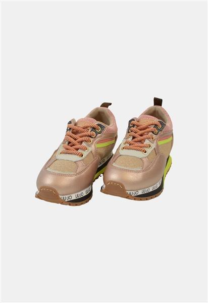 Liu Jo Sneakers Roze en Goud