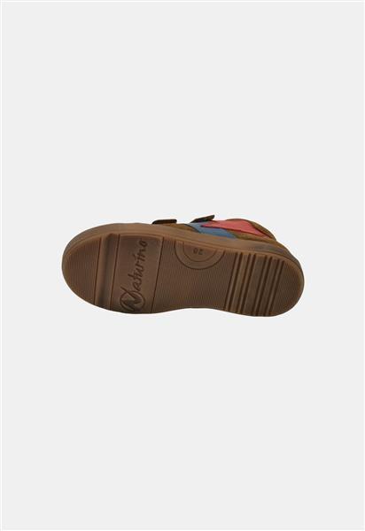 Naturino Sneaker Cognac met Rode Ster