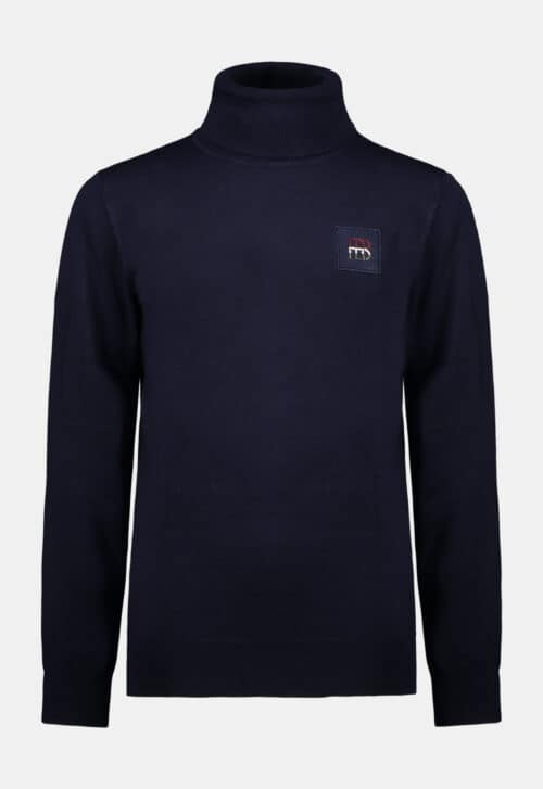 Red & Blu Coltrui 'Solid Knitted - Navy