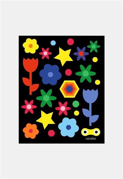 Rainette Reflecterende stickers - Colors