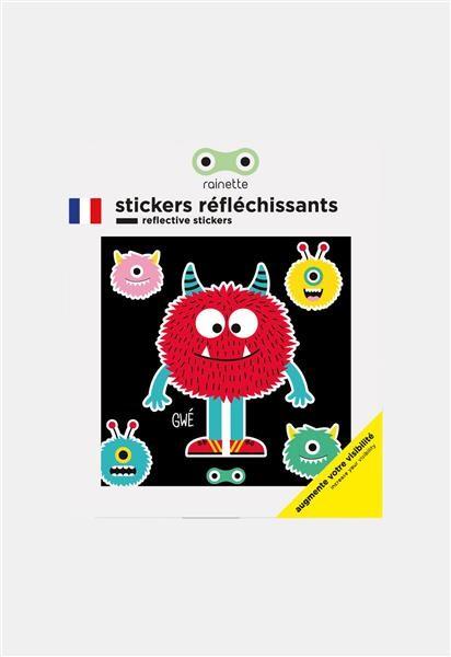 Rainette Reflecterende stickers - Monster