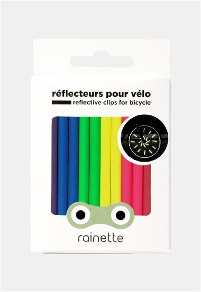 Rainette Fiets reflectoren - multi